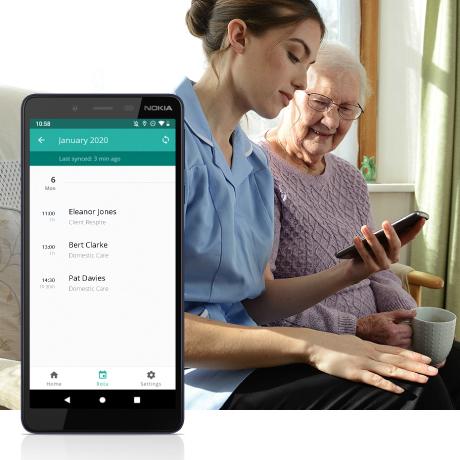 CareLineLive Carer Companion Mobile App